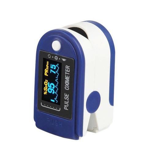 Foto Produk MIISOO Fingertip Pulse Oximeter Oxymeter Pengukur Kadar Oksigen - TFT 3 Color dari Miisoo Official Shop