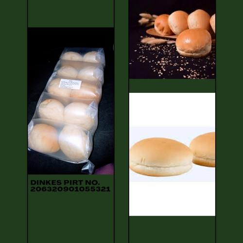 Foto Produk Roti Burger isi 10 pcs - Roti Burger polos 1Pack GRAB Go Jek dari Rumah kebab