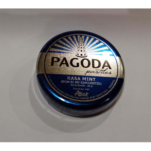 Foto Produk Pagoda Pastiles Mint 20g 132979 dari Tresno Herbal