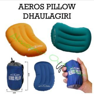Foto Produk Bantal Tiup Dhaulagiri Aero Pillow Neck - Biru dari Artivic