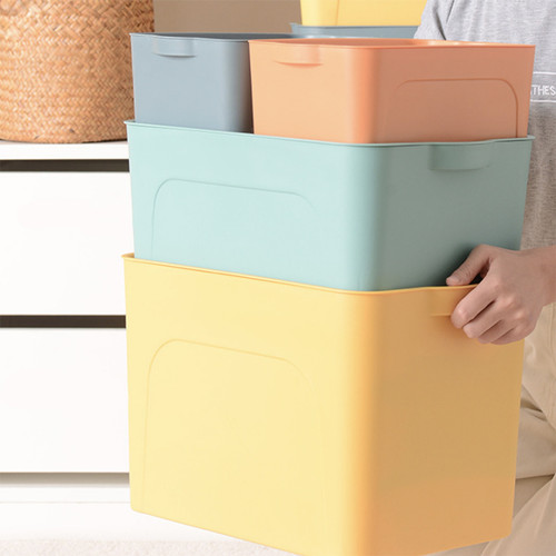 Foto Produk Kotak Penyimpanan C40 Tempat Baju/Kosmetik Storage Box 1set 4pcs - MIX dari Angola Official Store