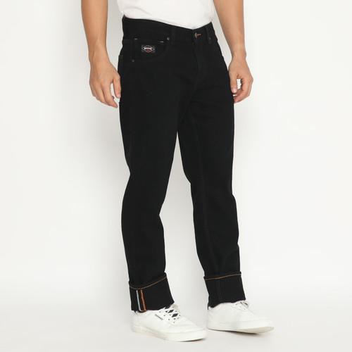 Foto Produk Papperdine 309 Black Straight Fit Celana Panjang Jeans Pria Denim - 31 dari Papperdine Jeans