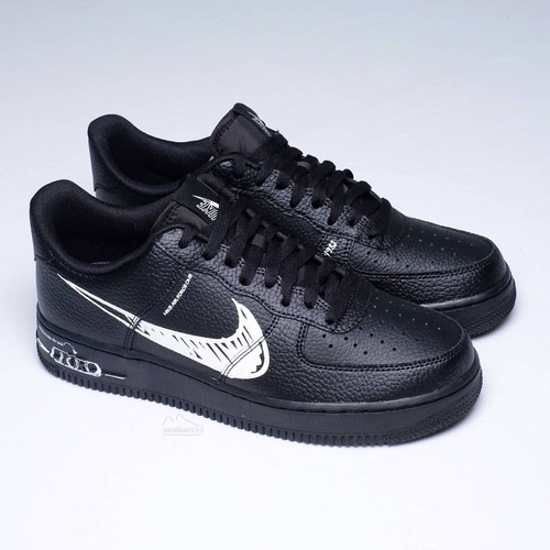 Foto Produk Nike Air Force 1 Low Utility Sketch Black - 42.5 dari senikersku_id