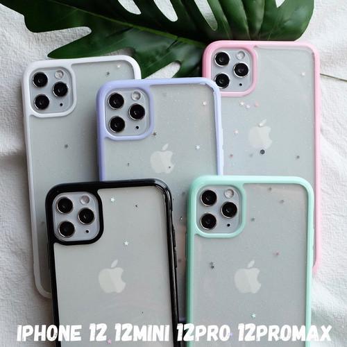 Foto Produk SHIMMERING GLITTER CASE - iPhone 12 12 MINI 12 PRO 12 PROMAX - SGS BLACK, IPhone 12PROMAX dari Pipop Case