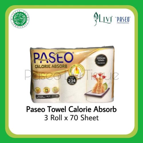 Foto Produk Tissue Minyak Paseo Kitchen Towel 3 in 1 / Tissue Dapur Murah dari weneedpackaging