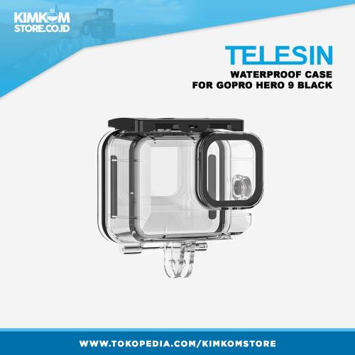 Foto Produk Telesin Waterproof Case for GoPro HERO 9 - Hero9 Casing Underwater dari kimkomstore