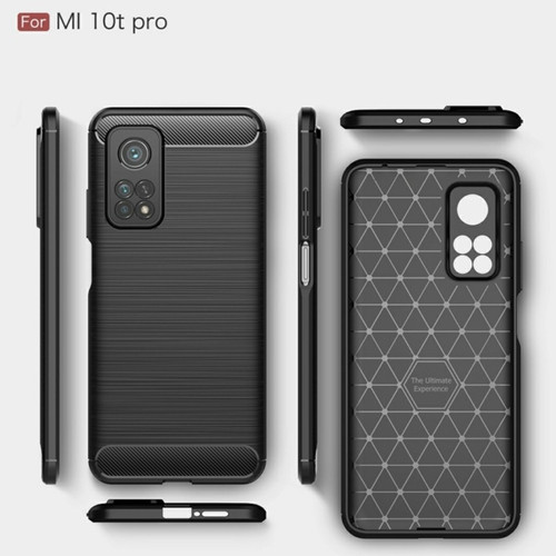 Foto Produk XIAOMI MI 10T / PRO SOFT CASE BRUSHED CARBON ORIGINAL CAMERA PROTECT dari Urban Story