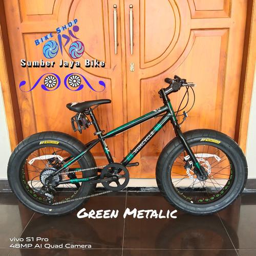 Foto Produk Sepeda MTB 20 Wimcycle Fatkids bike 20x4.00 7speed dari sumber jaya 1990