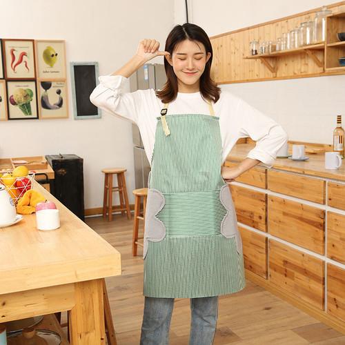 Foto Produk apron celemek masak waterproof kualitas bagus tebal dewasa - Hijau dari kidzbookstore_import