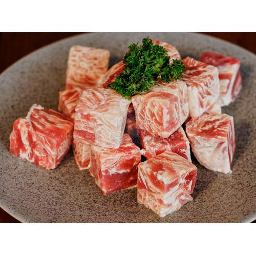 Foto Produk Beef Saikoro Wagyu Premium Meltique / Beef Cube Premium 500gram dari Ferry Fish