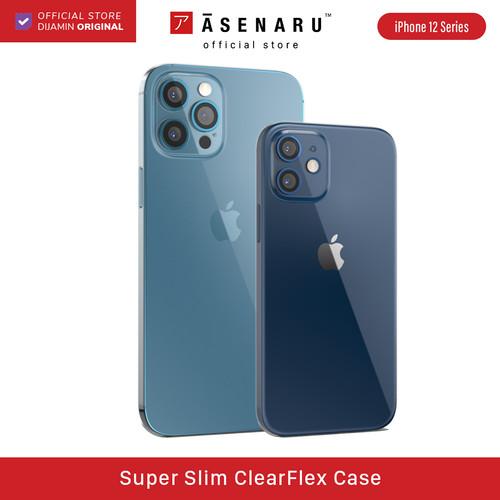 Foto Produk ASENARU iPhone 12 Mini/ Pro/ Pro Max Casing Super Slim ClearFlex Case - iPhone 12 dari Asenaru Official Store