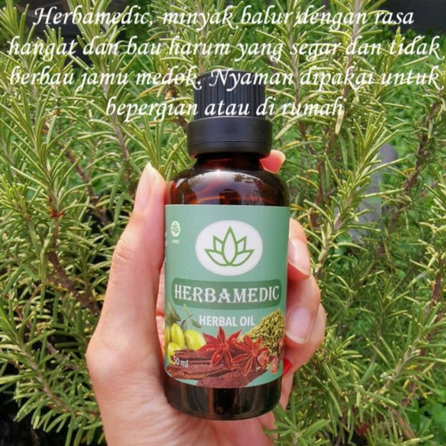 Foto Produk Herbamedic oil - minyak alami macam2 khasiat dari Rinrin ORI