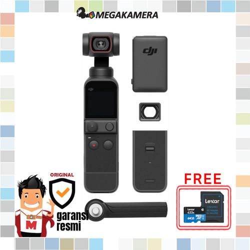 Foto Produk DJI Pocket 2 Gimbal Kamera - OSMO Pocket2 dari Megakamera