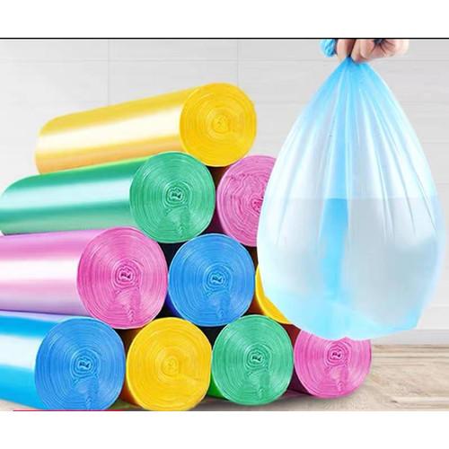 Foto Produk Kantong Sampah Plastik Sekali Pakai/isi 5 Roll -yoyosoo - PUTIH dari yoyosoo