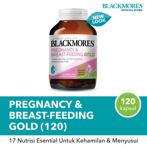 Foto Produk Blackmores Pregnancy & Breast - Feeding Gold (120) dari Blackmores Wellness