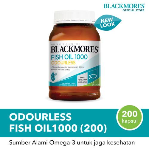 Foto Produk Blackmores Odourless Fish Oil 1000 (200) dari Blackmores Wellness