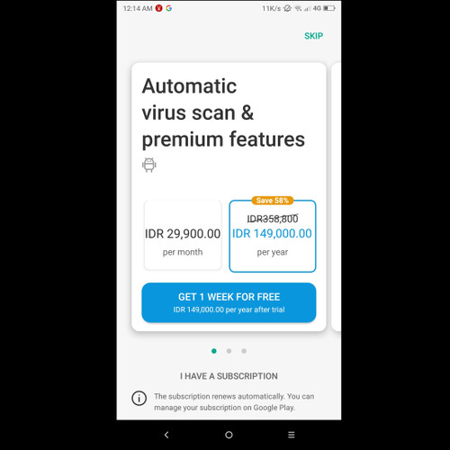 Foto Produk Kaspersky Internet Security for Android OS 1 Year License dari danito