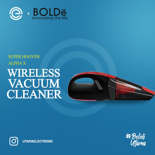 Foto Produk Bolde Vacuum Portable Wireless Super Hoover X Alpha - Kuning dari UTAMA_ELECTRONIC