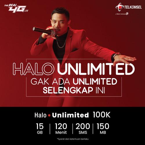 Foto Produk Halo Unlimited Super Lite - 1 BULAN dari Telkomsel