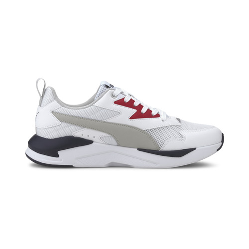 Foto Produk Puma X Ray Lite White Gray Violet Basics Shoes-37412203 - 7.5 dari Puma Official Store