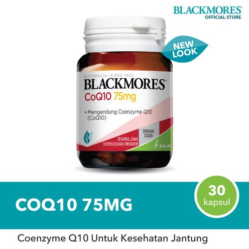 Foto Produk Blackmores CoQ10 75mg (30) dari Blackmores Wellness