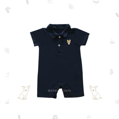 Foto Produk Ohbabydays | Jumper Baby | Ready Stock | Corgi Romper - Tosca, 3-6 bulan dari Ohbabydays