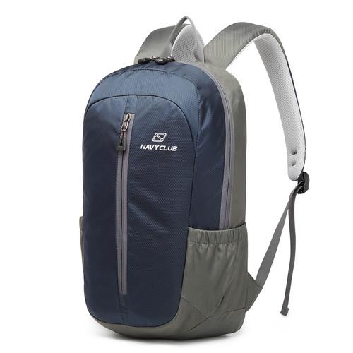 Foto Produk Navy Club New Arrival - Tas Ransel Kasual IAC Backpack Up to 13 inch - Biru dari Navy Club Official Store