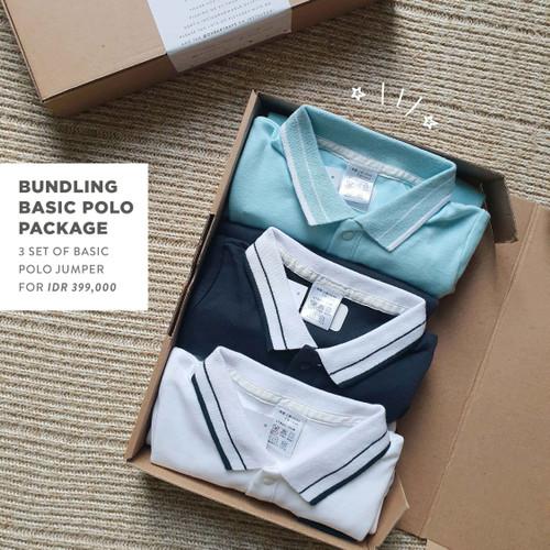 Foto Produk LEBIH HEMAT BELI 3 | Paket Polo Basic Jumper | OHBABYDAYS dari Ohbabydays