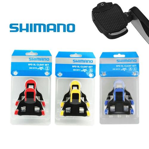 Foto Produk Shimano Original SPD-SL SH10 SH11 SH12 Pedal Cleat - Kuning dari Asia Gadget168