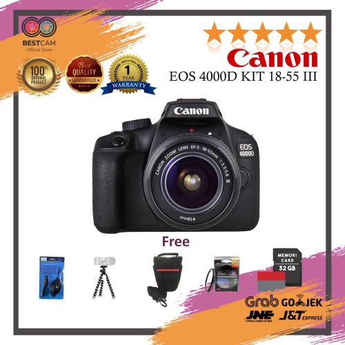 Foto Produk Canon EOS 4000D Kit 18-55 III - Free Accesories dari BestCam