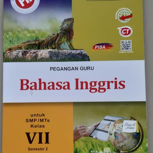 Jual Buku Kunci Jawaban Pr Bahasa Inggris Kelas 7 Semester 2 Tahun 2020 21 Kota Surabaya Toko Buku Surabay Tokopedia