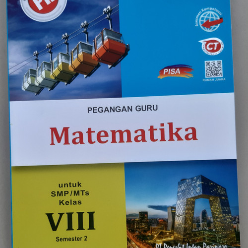 Jual Buku Kunci Jawaban Pr Matematika Kelas 8 Semester 2 Tahun 2020 2021 Kota Surabaya Toko Buku Surabay Tokopedia