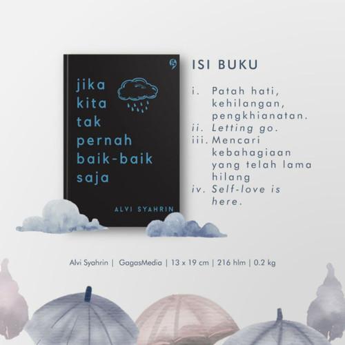 Foto Produk Jika Kita Tak Pernah Baik Baik Saja - Alvi Syahrin dari Alifia Bookstore
