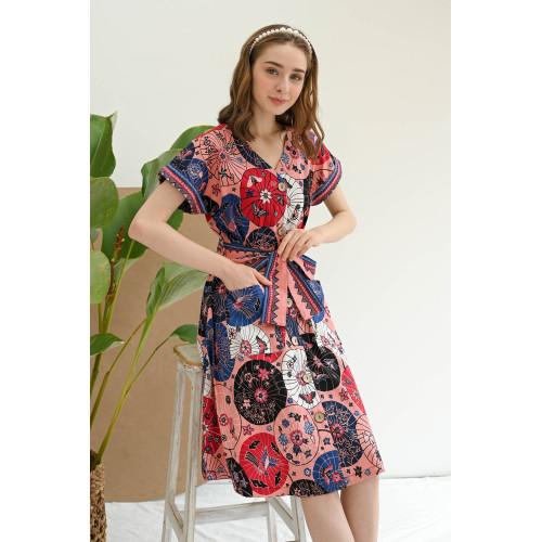 Foto Produk Kawai - Gaya Dress Batik Wanita - Jumbo dari Lustopia_Collection
