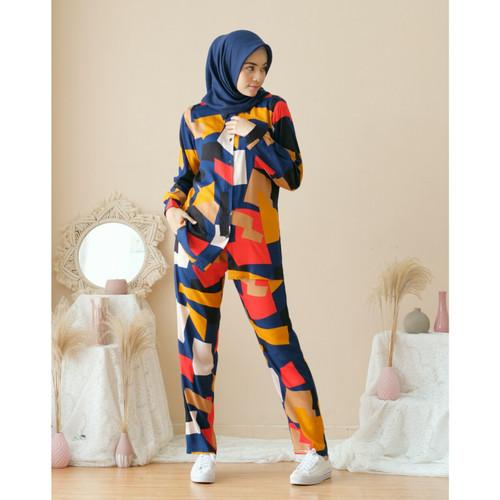 Foto Produk one set setelan wanita kekinian murah - size 1 dari hai gaes clothing