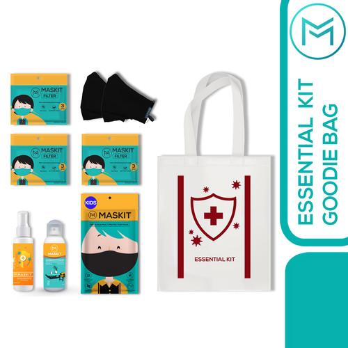 Foto Produk Essential Hygiene Kit Maskit - P3K Paket Covid dari Maskit Store
