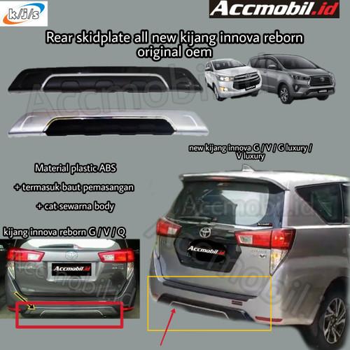 Foto Produk rear skidplate rear bumper all new kijang innova reborn 2016 dari accmobil id