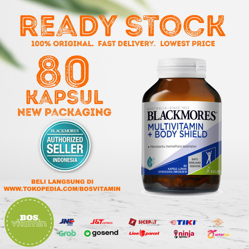 Foto Produk Blackmores Bio Ace Excell BPOM Kalbe - 80 Softgel dari Bos Vitamin