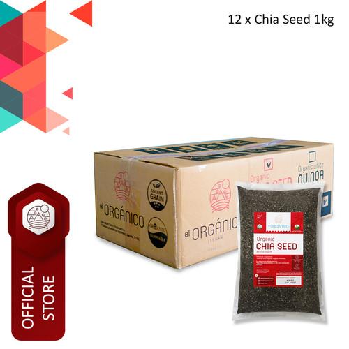 Foto Produk Chia Seed Organic El Organico 1Kg (Carton Box) dari ELorganico