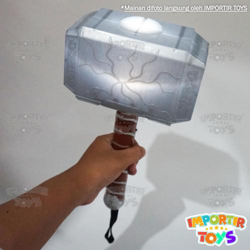 Foto Produk Mainan Anak Palu Thor Unik dgn Bahan yang Super!! - Putih dari IMPORTIR TOYS