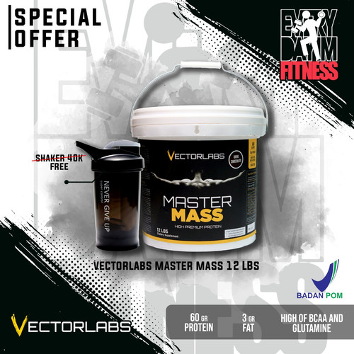 Foto Produk Vectorlabs Master Mass 12 Lbs - Vanilla dari everydayimfitness
