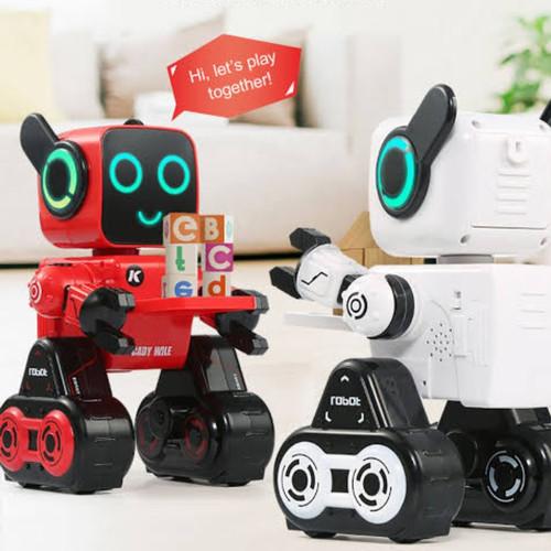 Foto Produk ROBOT JJRC R4 SMART CADY WILE 2.4G DENGAN MULTIFUNGSI KONTROL SUARA SE dari Digitalworld_jr