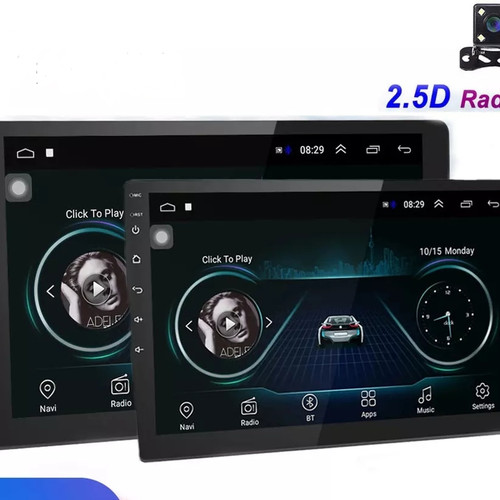 Foto Produk Head unit android 9 inch 2Din universal 2GB/16GB SPLIT SCREEN IPS 2.5D - RAM 1 ROM 16 dari Navtech