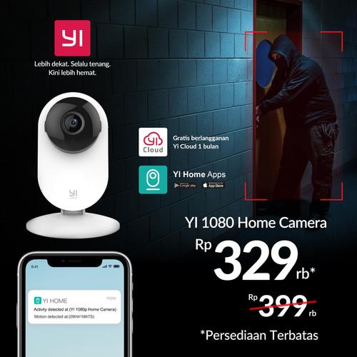 Foto Produk Xiaomi Xiaoyi Yi Home Camera CCTV 720p International Ver [BEST SELLER] dari Edison Comp