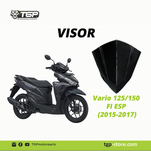 Foto Produk Accesories vario 150 / variasi vario 150 / visor vario 150 esp dari tgp motor parts official