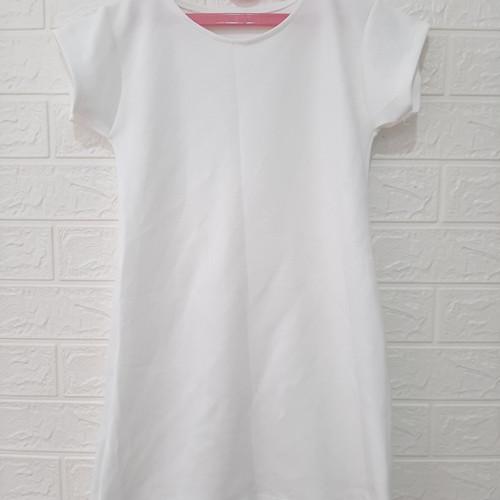 Foto Produk Dress polos warna putih - M dari KLS_SHOP
