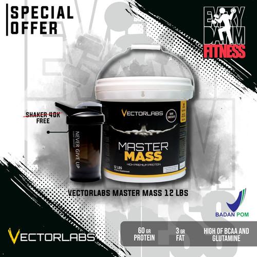 Foto Produk Master Mass 12 PH prohybrid 10lb 10lbs 10 lb lbs mass gainer nutrition - Dark Choco dari everydayimfitness