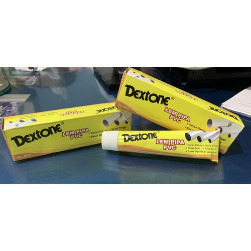 Foto Produk Lem pipa pvc dextone 40 gram paralon dari Fastpro