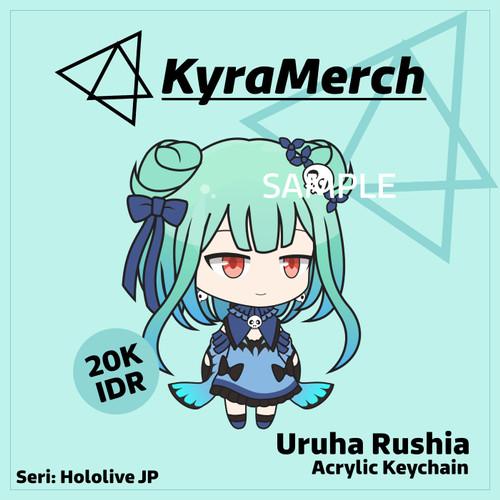 Foto Produk Keychain Hololive Japan Uruha Rushia dari KyraMerch