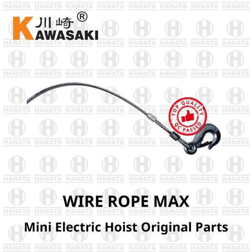 Foto Produk Kawasaki Mini Electric Hoist Spareparts: Sling Hook 30 M x 150/300 Kg dari Hanata Lifting Official